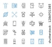 clipart icons set. collection...