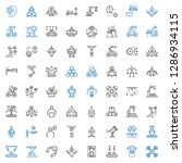 robot icons set. collection of... | Shutterstock .eps vector #1286934115