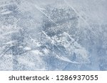 the texture of the ice. the... | Shutterstock . vector #1286937055