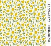 flower pattern. endless... | Shutterstock .eps vector #1286943775