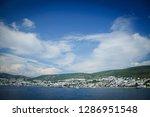 the aegean sea coast of turkey | Shutterstock . vector #1286951548