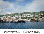 the aegean sea coast of turkey | Shutterstock . vector #1286951602