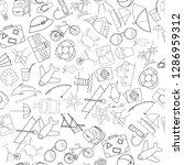 vector illustration pattern of... | Shutterstock .eps vector #1286959312