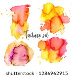 set of colorful abstract... | Shutterstock .eps vector #1286962915