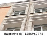 part of the facade of the...   Shutterstock . vector #1286967778