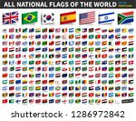 all national flags of the world ... | Shutterstock .eps vector #1286972842