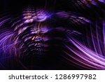 3d abstract fractal background. ...   Shutterstock . vector #1286997982