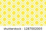 seamless pattern geometric.... | Shutterstock .eps vector #1287002005