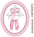 Ballet shoes label
