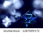Sapphire Or Blue Diamond With...
