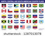 all north  central and south... | Shutterstock .eps vector #1287013078