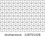 three dimensional cubes as... | Shutterstock .eps vector #128701328
