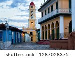 view of trinidad street with...   Shutterstock . vector #1287028375