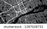 urban vector city map of... | Shutterstock .eps vector #1287028732
