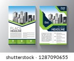 business abstract vector... | Shutterstock .eps vector #1287090655