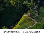 narrow footpaths leading to a... | Shutterstock . vector #1287096055