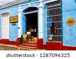 trinidad  cuba   november 21 ...   Shutterstock . vector #1287096325