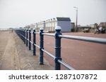 a rustic metal seaside...   Shutterstock . vector #1287107872