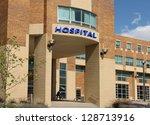 modern hospital style building | Shutterstock . vector #128713916