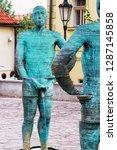 prague  czech republic   august ... | Shutterstock . vector #1287145858