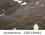 partial snow visible on... | Shutterstock . vector #1287154462
