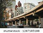 tokyo  japan   20 april  2018 ... | Shutterstock . vector #1287185188