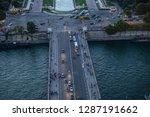 paris france october 6  2016 ... | Shutterstock . vector #1287191662