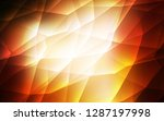 dark orange vector layout with... | Shutterstock .eps vector #1287197998
