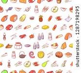 set of thumbnails. background... | Shutterstock .eps vector #1287198295