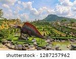 chonburi thailand october 18...   Shutterstock . vector #1287257962