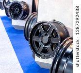 magnesium alloy car wheel rims... | Shutterstock . vector #1287292438