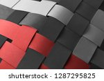 close_up of intertwined...   Shutterstock . vector #1287295825