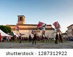 spilimbergo. pordenone district.... | Shutterstock . vector #1287312922