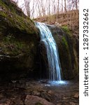 Stephens Falls in spring at Governor Dodge State Park near Dodgeville, Wisconsin
