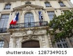 rennes city hall during the day.... | Shutterstock . vector #1287349015