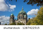 berliner dom  cathedral church... | Shutterstock . vector #1287422515