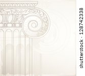architectural design background ... | Shutterstock .eps vector #128742338
