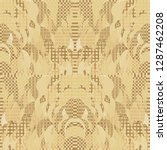 quirky tapestry pattern.... | Shutterstock .eps vector #1287462208