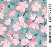 seamless background pattern of... | Shutterstock . vector #1287472195