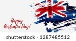 happy australia day. holiday...   Shutterstock .eps vector #1287485512