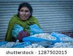 la paz  bolivia   august 19 ... | Shutterstock . vector #1287502015