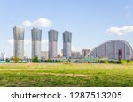moscow  russia   may 18  2017 ... | Shutterstock . vector #1287513205