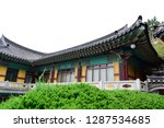 haedong yonggungsa temple on... | Shutterstock . vector #1287534685