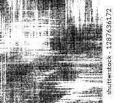 black and white grunge pattern... | Shutterstock . vector #1287636172