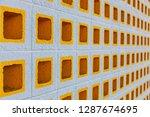 Symmetrical Concrete Wall