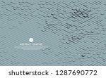 matrix of countless blocks  big ... | Shutterstock .eps vector #1287690772