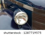 headlight and grille of a 1930s ... | Shutterstock . vector #1287719575