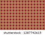 geometrical simple raster art.... | Shutterstock . vector #1287742615