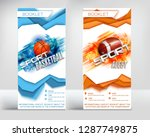 the design of the finished... | Shutterstock .eps vector #1287749875