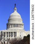 dome of capitol  washington  dc ... | Shutterstock . vector #128778632